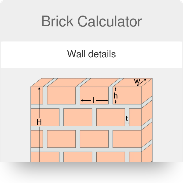 Brick Calculator with Mortar - Omni
