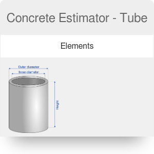 Concrete Estimator - Tube