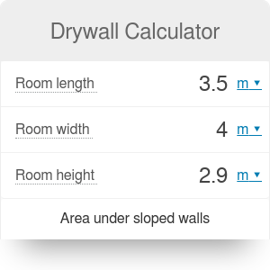 Drywall Calculator | How much drywall do I need?