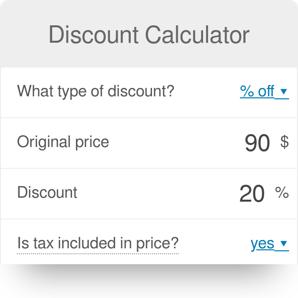 discount calculator omni