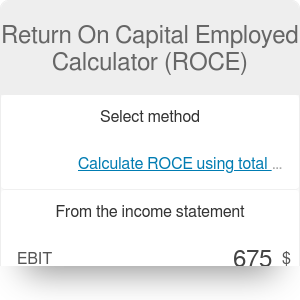 Return On Employed Capital Calculator