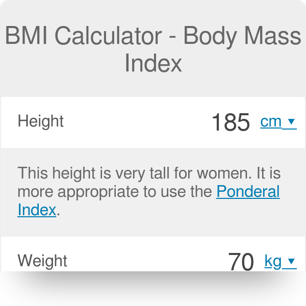 BMI Calculator - What's Your Body Mass Index? - Omni