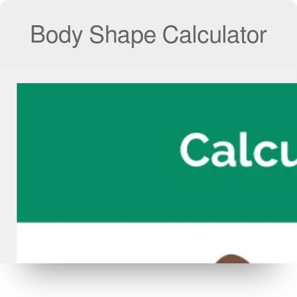 d18c55af1 Body Shape Calculator - Omni