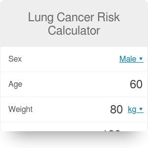 Lung Cancer Risk Calculator for Smokers
