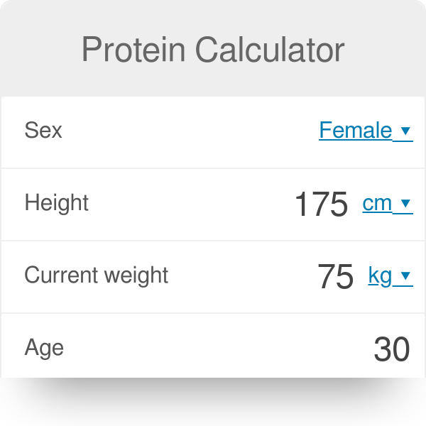 Protein calculator omni.