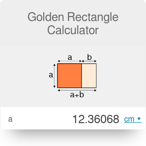 Golden Rectangle Calculator