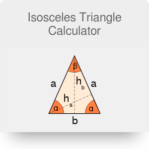 Isosceles Triangle Calculator