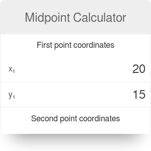 Midpoint Calculator