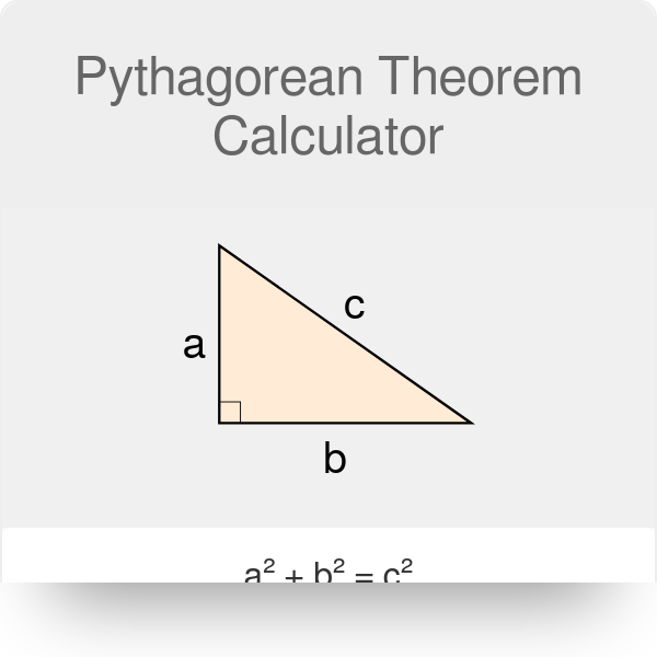 Pythagorean Theorem Calculator - Omni