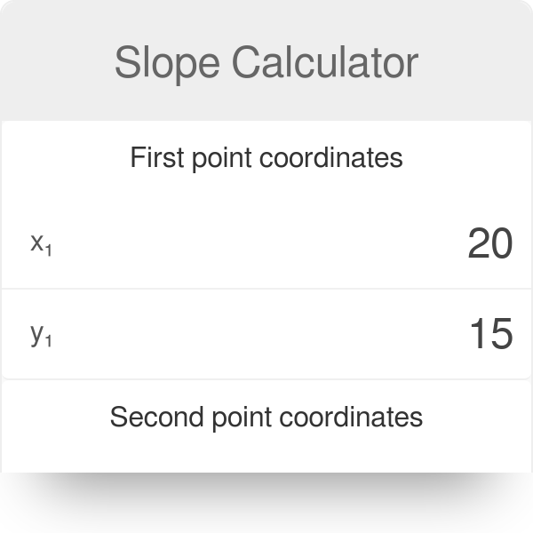 point slope form calc  Slope Calculator - Omni