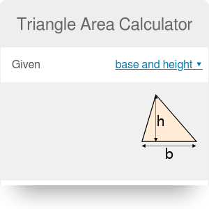 Triangle Area Calculator