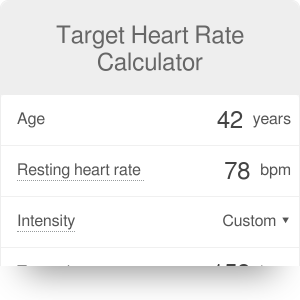 what is the formula for finding your target heart rate