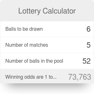 Lottery Calculator